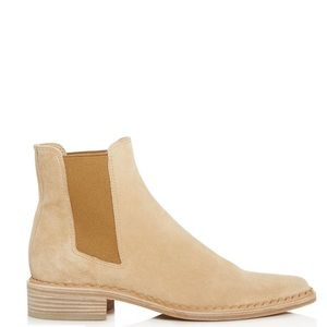 Vince Tan Denver Round Toe Ankle Booties